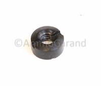 M1 Garand Rear Sight Short Pinion Flush Nut 6-40 NF Thread for Short Pinion Use - New - Replacement