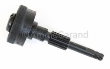 M1 Garand Rear Sight Elevation Pinion Assembly T105 (Yards) - Also for M1A M14<br>Late 1945 on use<br>- NEW - Dark