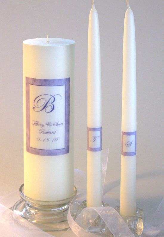 bride  u0026 groom monogrammed unity candle set