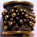 Vine Antique Gold Hair Bead