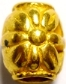 Flower Hair Bead Gold