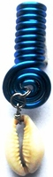 Cowrie Coil Royal Blue