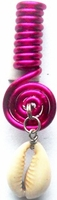 Cowrie Coil Hot Pink