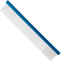 "10"" Aluminum/Stainless Steel Grooming Comb<br>by Master Grooming Tools™"