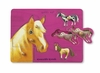 Crocodile Creek <br>Wood Puzzle <br>Horses
