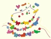 Haba Threading Beads <br>Threading Animals