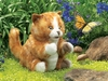 Folkmanis Puppet <br>Orange Tabby Kitten