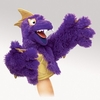 Folkmanis Puppet <br>Purple Pi Monster