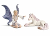 Schleich Fantasy <br>Landariel with <br>Unicorn Foal