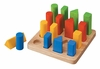 Plan Toys <br>Geometric Peg Board