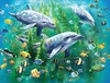 Ravensburger <br>100 Piece Puzzle <br>Dolphin Duo