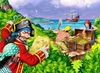 Ravensburger 100 Piece <br>Pirates Treasure