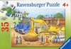 Ravensburger 35 Piece <br>Busy Builders