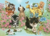 Ravensburger 35 Piece <br>Garden Kitties