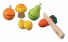 Plan Toys <br>Fruit & Vegetable Set