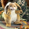 Folkmanis Puppet <br>Patchwork Rabbit