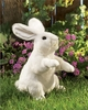 Folkmanis Puppet <br>Standing White Rabbit
