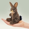 Folkmanis Puppet<br>Mini Jack Rabbit