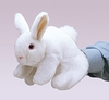 Folkmanis Puppets <br>White Bunny Rabbit