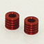 Bellcrank Risers, Red (1055)
