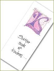 Kindness Bookmark