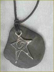 Let your Light Shine Rock Necklace
