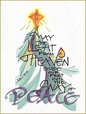 Way of Peace Christmas Card Set