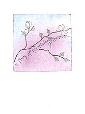 Magnolia Comfort Greeting Card