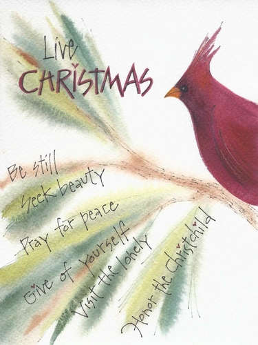 Live Christmas! Christmas Card Set