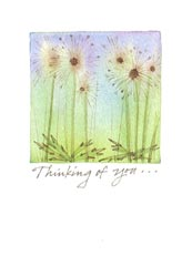 Dandelions Comfort Greeting Card