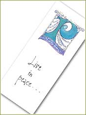 Peace Bookmark