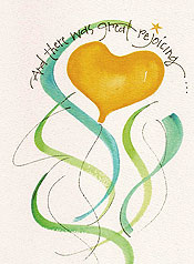 Great Rejoicing Grandchild Birthday Greeting Card