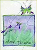 Butterfly Thanks Greeting Card