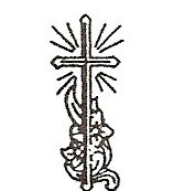 Cross with floral engraving design option