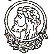 Christ with roses engraving design option