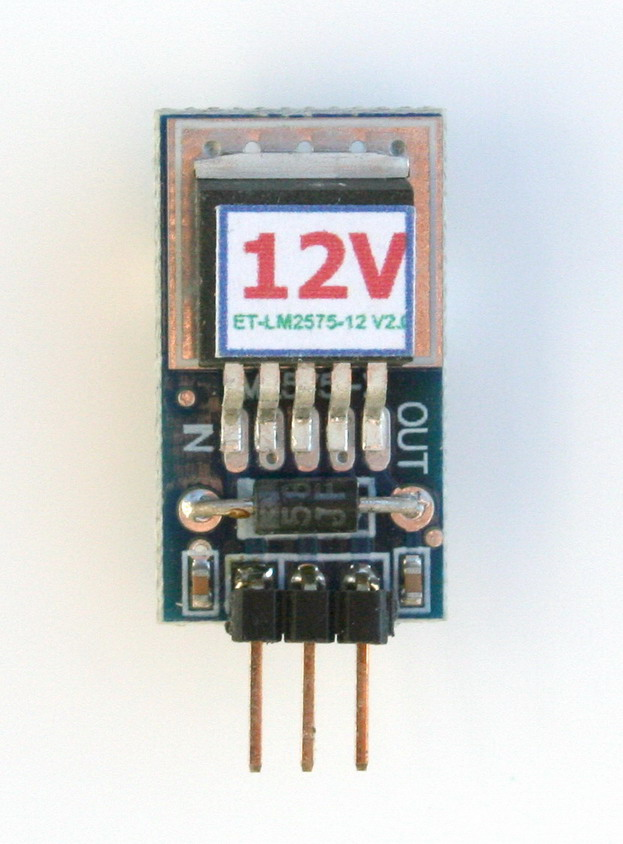 3-Terminal 12V 1A Switching Voltage Regulator