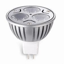 LED Light Bulb DC 12V 3W MR16 Spot lights RV Lamp White