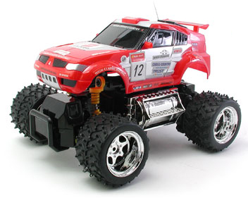 RC Cross Country 4WD Truck Radio Control 1/32 Overload Thunder Racing Buggy