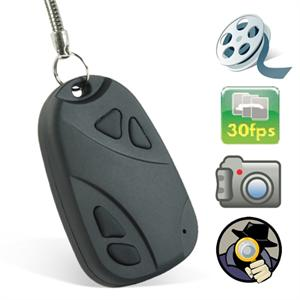 Car Key Chain Spy Cam Camcorder DVR One touch Pinhole Hidden Camera
