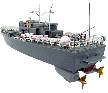 RC Missile Warship R/C Boat Patrol Craft Radio Remote Control HT-2877 RTR  Ship Battleship Cruiser