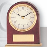 PIANO FINISH ROSEWOOD CLOCK