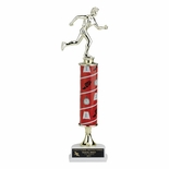 14, 15, 16 INCH ONE COLUMN SPORTS TROPHY TAKES FIGURE