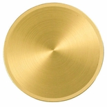 2 INCH SPUN  GOLD DISC