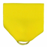 PIN BACK RIBBON, YELLOW