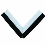 NECK RIBBON, BLACK AND WHITE