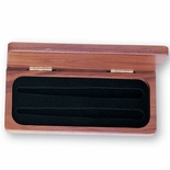 DELUXE ROSEWOOD BOX HOLDS 2 PENS