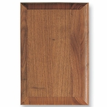 8-1/4 X 10-1/4 WALNUT PLAQUE WITH BEVEL