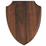 9-1/2 X 12 WALNUT SHIELD
