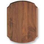 8 X 10-1/2 WALNUT SHIELD