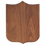 12 X 16 WALNUT VENEER 4 POINT SHIELD PLAQUE